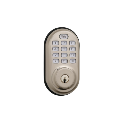 Yale YRD216 NR 619 SCKD Pushbutton Deadbolt 619