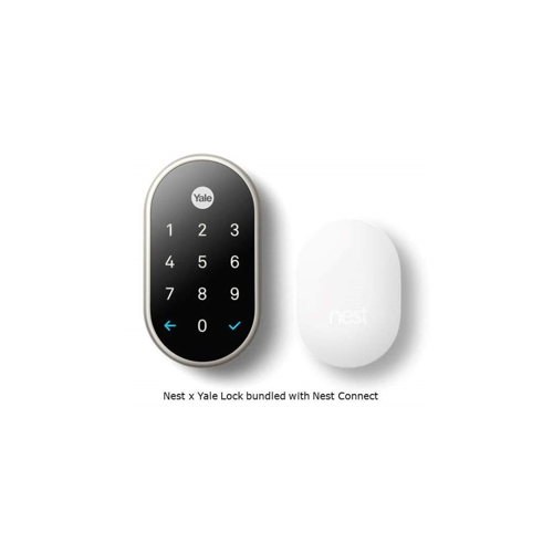 Yale RB-YRD540-WV-US15 Key Free Touchscreen Deadbolt W/ Nest