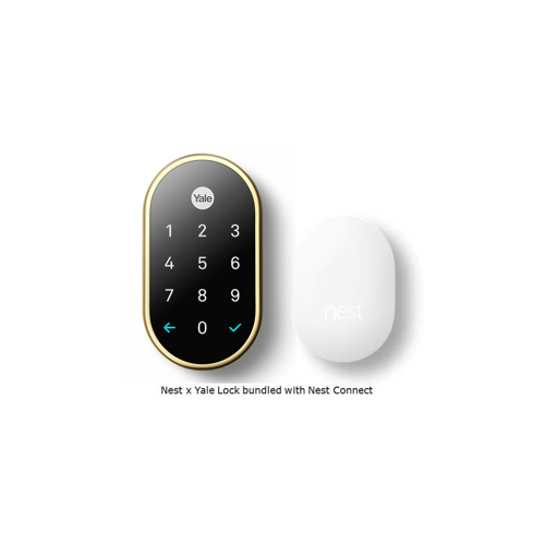 Yale RB-YRD540-WV-US3 Key Free Touchscreen Deadbolt W/nest