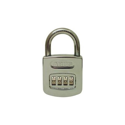 Abus 160/50C Resettable Combo Padlock 4 Dial Carded