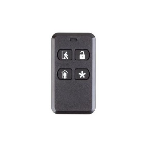 2GIG KEY2-345 4-button Key Ring Remote
