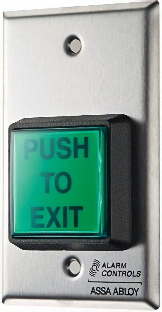Alarm Controls TS-2-2 Pushbutton