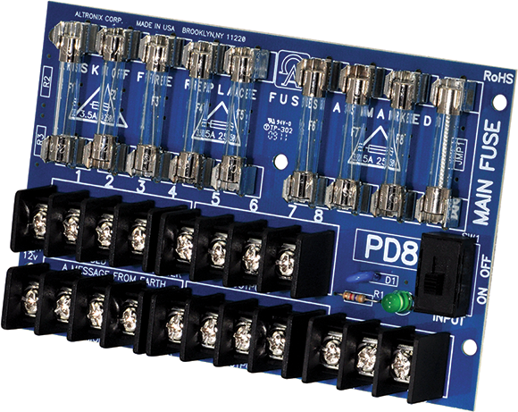 Altronix PD-8 Power Supply