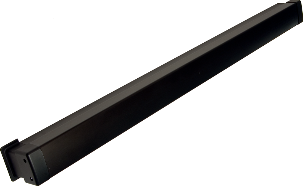"Adams Rite 8099-M1-3236 36"" Active Dummy Push Bar with One Monitoring Switch for Aluminum Doors Dark Bronze Anodized Finish"
