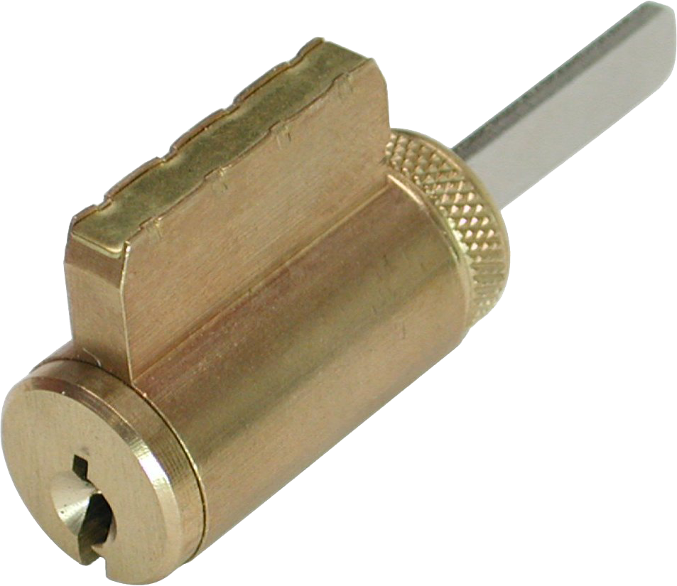 GMS K001AW4OB Zero Bitted Knob / Lever Cylinder with Arrow Keyway Satin Brass Finish